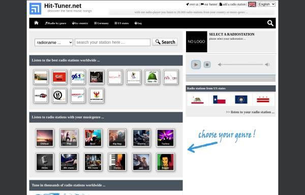 Vorschau von www.hit-tuner.net, Hit-Tuner