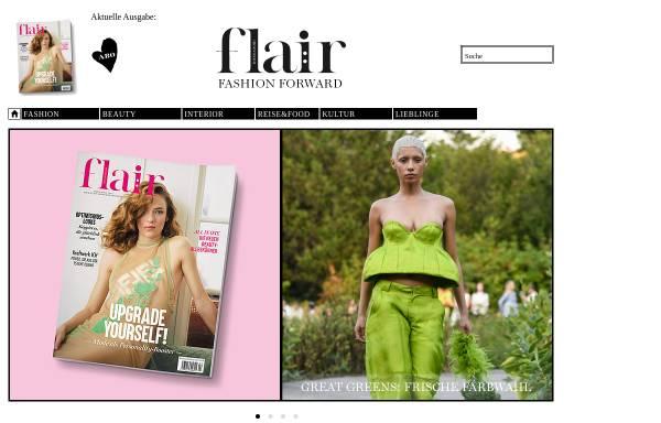 Vorschau von www.flair-magazin.de, FLAIR Magazin