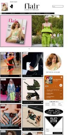 Vorschau der mobilen Webseite www.flair-magazin.de, FLAIR Magazin
