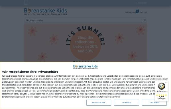 Vorschau von www.baerenstarke-kids.de, Bärenstarke Kids, Peter Vonwirth