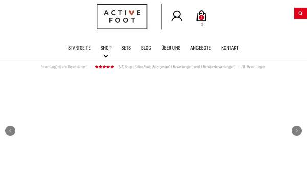 Vorschau von active-foot.de, Active-Foot, David Szymczak