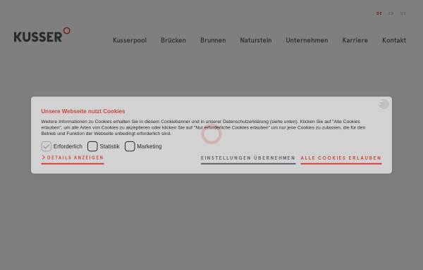 Vorschau von de.kusser.com, Grabsteine, KUSSER Granitwerke GmbH