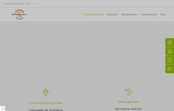Vorschau von www.sonnenschein-apotheke.de, Sonnenschein-Apotheke