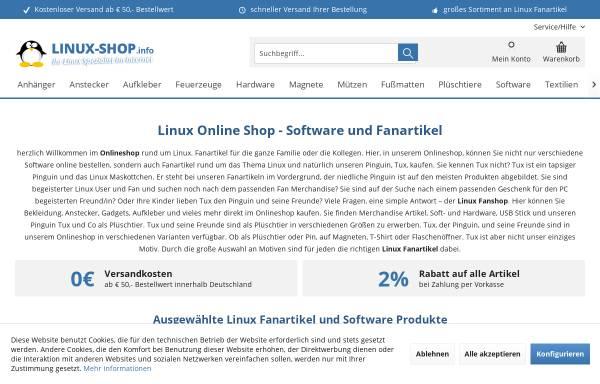Vorschau von www.linuxisos.de, Freies OpenSource Unternehmen, Chris Unger