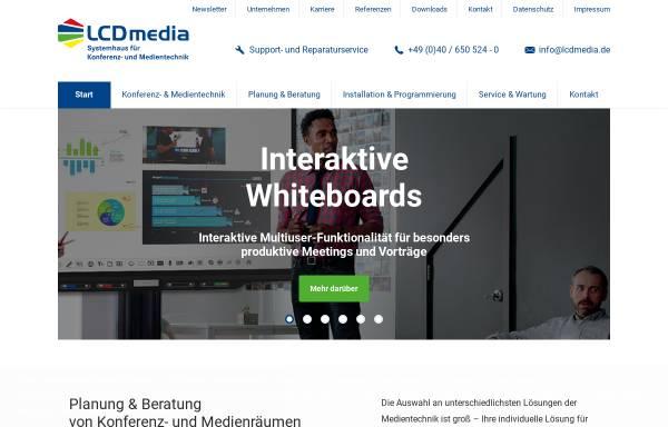 Vorschau von www.lcdmedia.de, LCD media GmbH