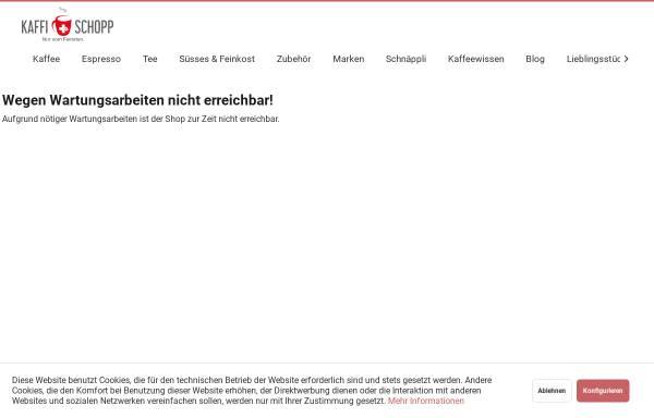 Vorschau von www.kaffischopp.de, Kaffi Schopp