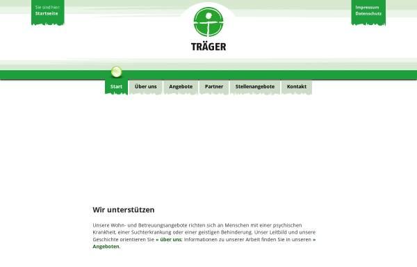 Vorschau von www.traeger-berlin.de, Träger e.V.