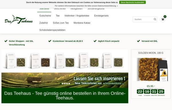 Vorschau von www.teehausshop.de, Teehaus Bad Harzburg, Reinhard Osdowsky