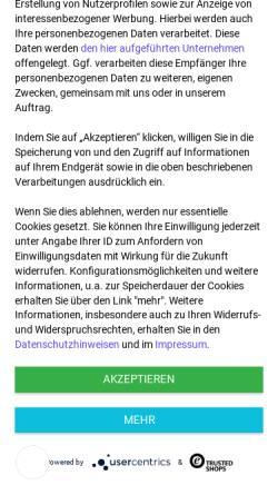 Vorschau der mobilen Webseite teekaufen24.de, Tea & Shirt, Beatrix Greif-Domin