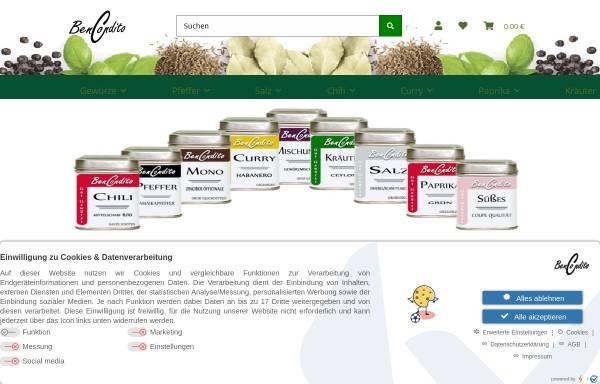 Vorschau von www.bencondito.at, BenCondito, Wolfgang Friedl