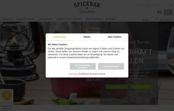 Vorschau von www.spicebar.de, Spicebar GmbH