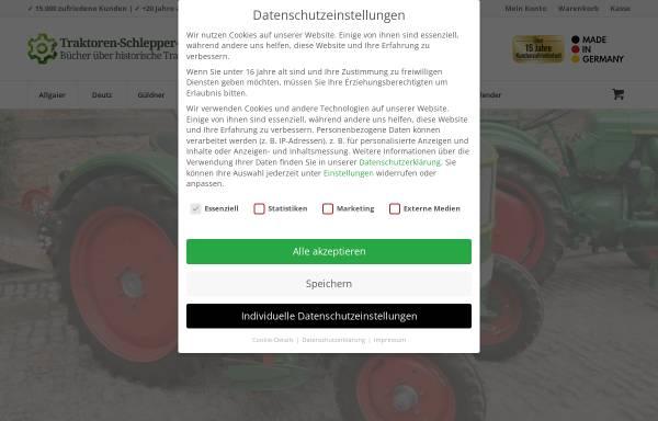 Vorschau von www.traktoren-schlepper-shop.de, Felix Bauer Literaturversand