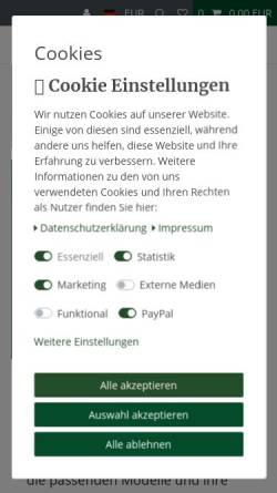 Vorschau der mobilen Webseite shop.tiremoni.com, TPM Technology Products Marketing GmbH