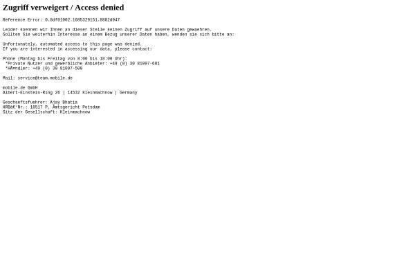 AutoAct: Verzeichnisse und Portale, Autos autoact.mobile.de