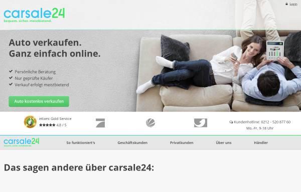 Vorschau von www.carsale24.com, Carsale24