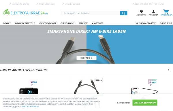 Vorschau von www.elektrofahrrad24.de, Elektrofahrrad24.de, Reja Huhn