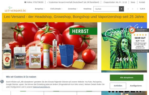 Vorschau von www.leoversand.de, Leo-Versand.de, Rainer Götz