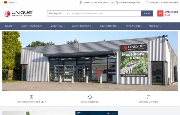 Vorschau von www.sceneryproducts.de, Unique Group B.V.