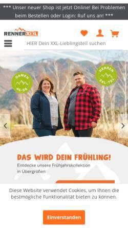 2cde0c3c9b8082 ... Vorschau der mobilen Webseite www.outdoor-renner.de