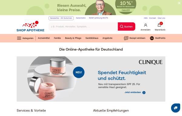 Vorschau von www.shop-apotheke.com, shop-apotheke.com, Fortuna-Apotheke Köln