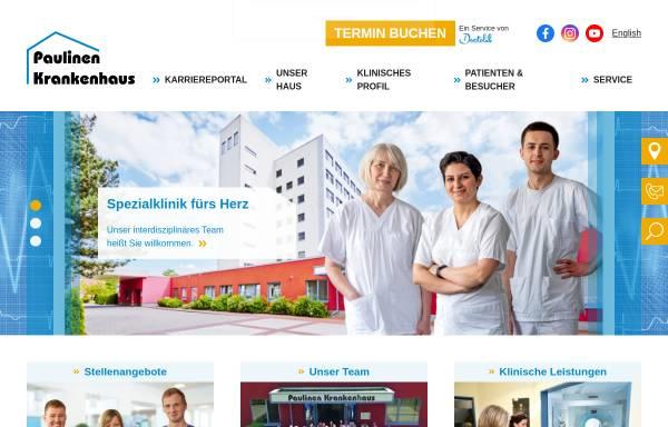 Vorschau von www.paulinenkrankenhaus.de, Paulinenkrankenhaus