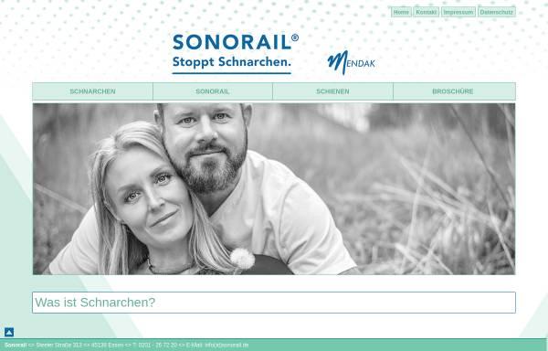 Vorschau von www.sonorail.de, Sonorail UG