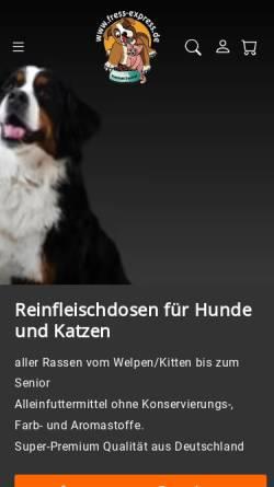Vorschau der mobilen Webseite www.fress-express.de, Fress Express, Alice Tiburtius
