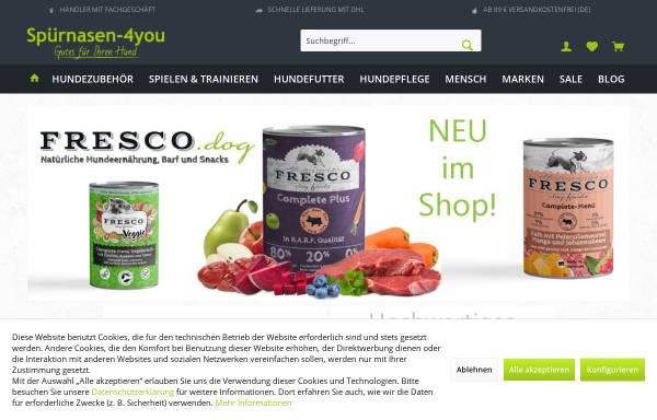 Vorschau von www.spuernasen-4you.de, Spürnasen-4you, Silvia Papadatos