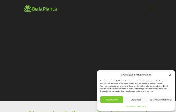 Vorschau von www.bellaplanta.de, Bella Planta - etrado Online-Handel GmbH