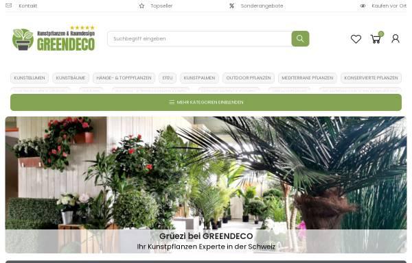 Greendeco schweiz kunstblumen dekorationsartikel for Dekorationsartikel hamburg