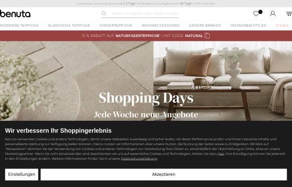 Vorschau von www.benuta.de, Benuta GmbH