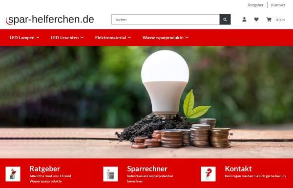 Vorschau von www.spar-helferchen.de, Spar-Helferchen, Alexandra Böck