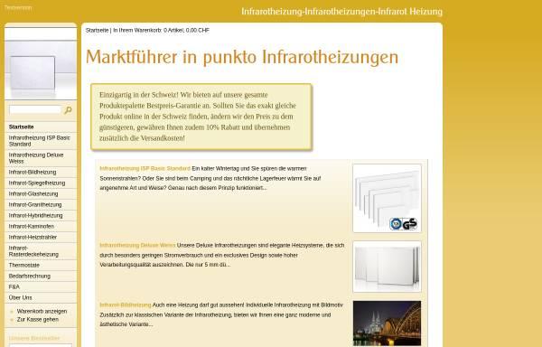Vorschau von www.infrarotheizung-online.ch, Krieger Therm GmbH
