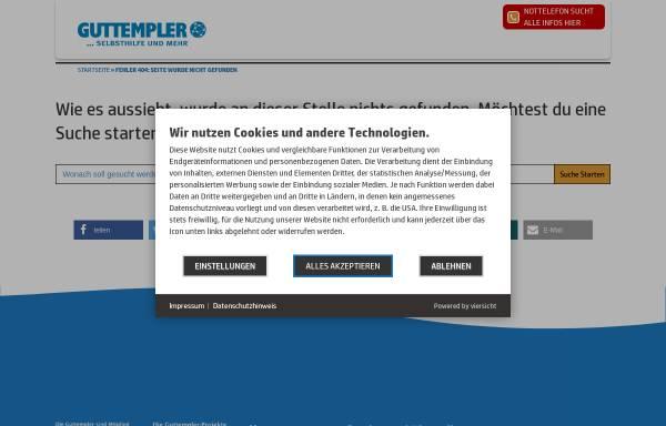 Vorschau von www.guttempler-berlin.com, Guttempler in Berlin und Brandenburg e.V.