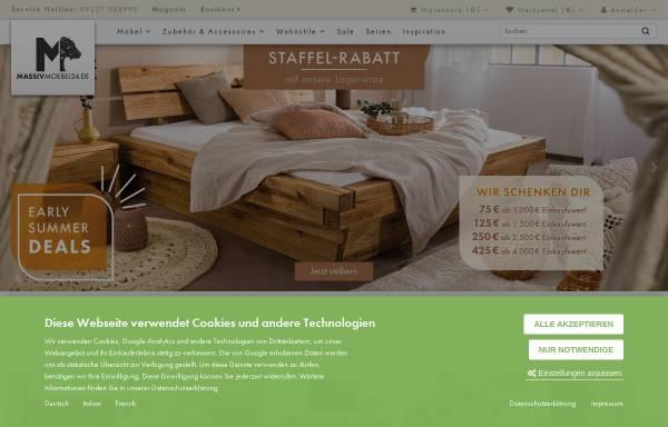 Vorschau von www.kolonialmoebel24.de, Massivholzmöbel 24 GmbH