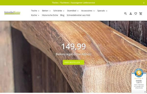 Holzmöbelkontor, Gerd Freye: Design, Möbel holzmoebelkontor.de