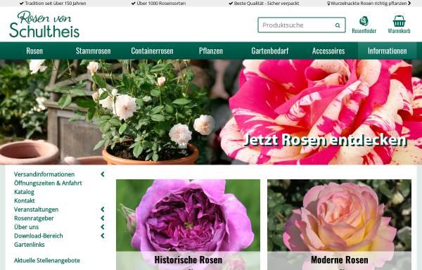Vorschau von www.rosenhof-schultheis.de, Rosenhof- Schultheis
