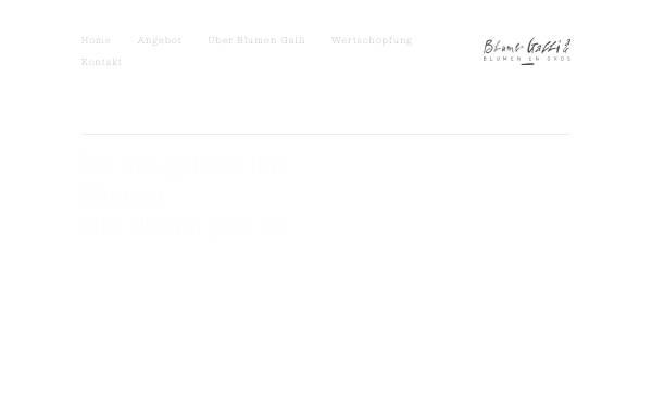 Vorschau von www.blumengalli.ch, Blumen Galli AG