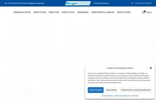 Vorschau von www.berger-seidle.shop, Palatina Werkstatt GmbH