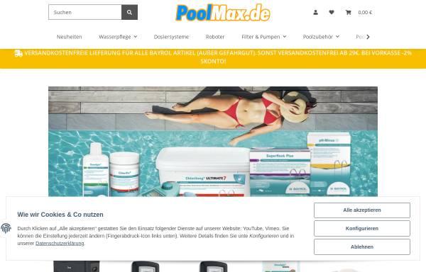Vorschau von www.poolmax.de, Stoll GmbH. Kerstin Stoll Gremm & Jörg Stoll