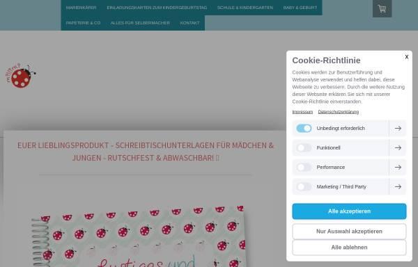 Vorschau von www.einladungskarten-zum-kindergeburtstag.com, millimi - Martina Lange