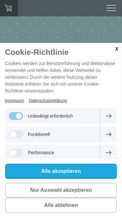 Vorschau der mobilen Webseite www.einladungskarten-zum-kindergeburtstag.com, millimi - Martina Lange