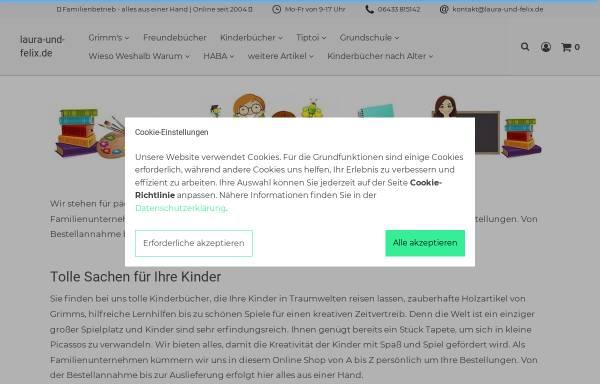 Vorschau von laura-und-felix.de, Buy Sell Online, Oliver Klein