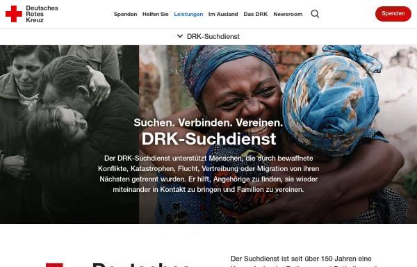 Vorschau von www.drk.de, DRK-Suchdienst