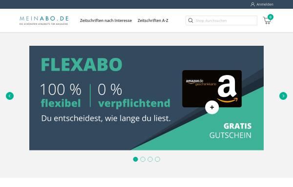 Vorschau von www.meinabo.de, MSP Medien-Service und Promotion GmbH