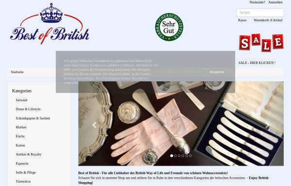 Best Of British Britisch Europaisch Best Of British De