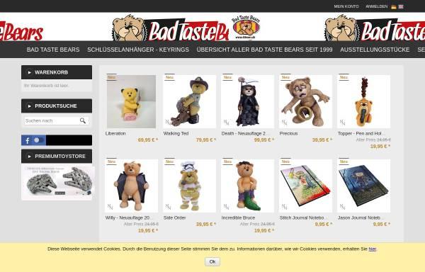 Vorschau von www.btbears.de, BTBears, Björn Gebbert