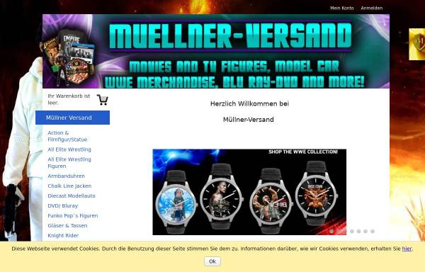 Vorschau von www.muellner-versand.de, Müllner-Versand