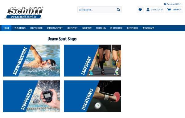 Vorschau von www.schuett-sport.de, Schütt Handelsgesellschaft mbH