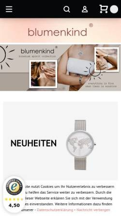 Vorschau der mobilen Webseite www.wsj24.com, Wassersport Jansen - Point of Sports GmbH